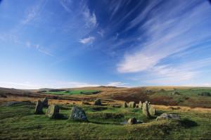 Nine Maidens Stone Circle - Belstone sh